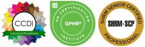 3 certification logos
