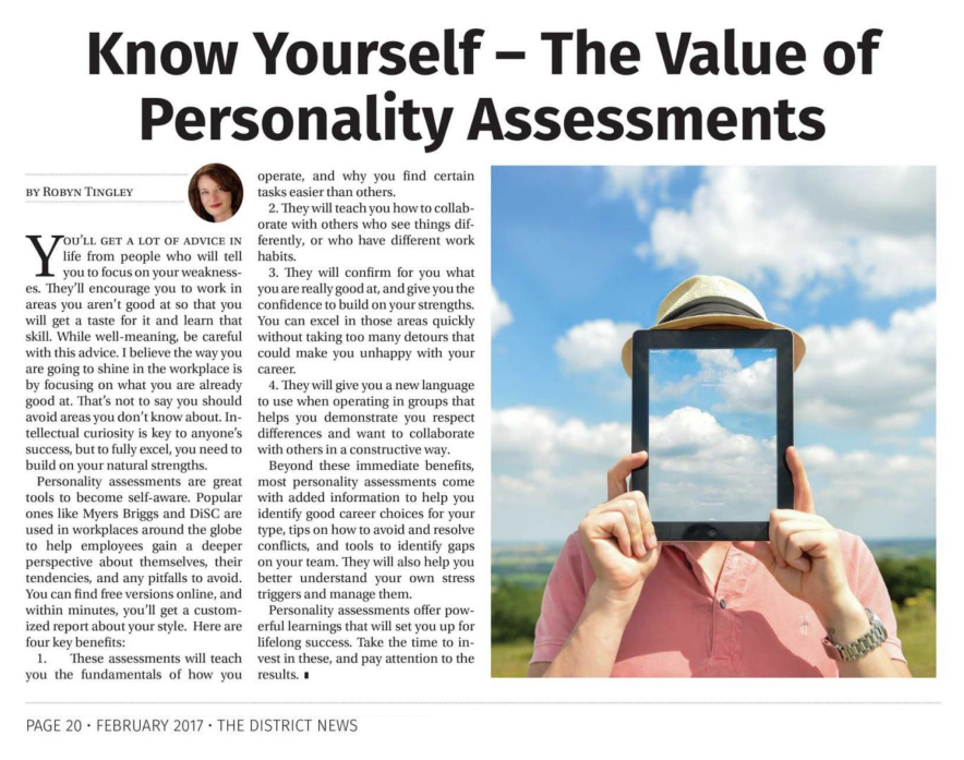 Know Yourself – The Value Of Personality Assessments
