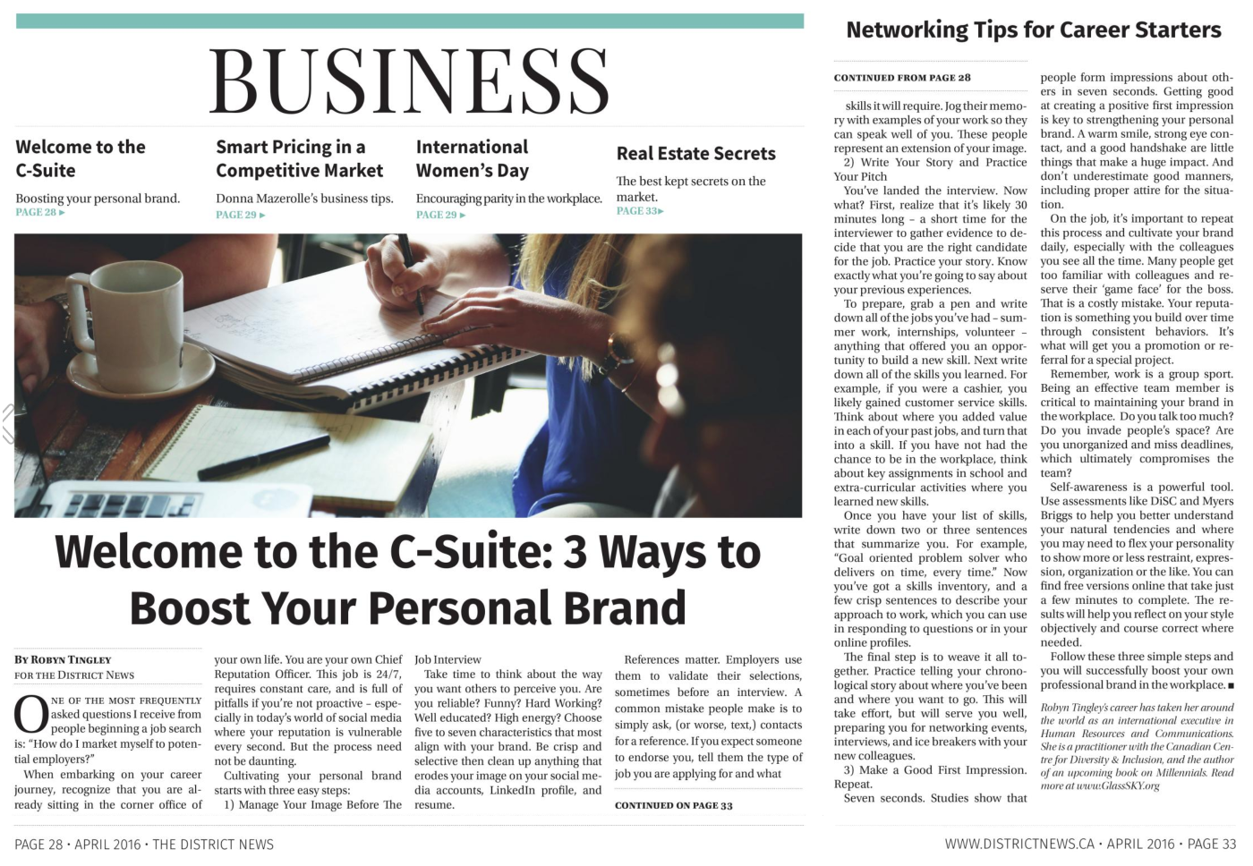 Welcome to the C-Suite – 3 Ways To Boost Your Personal Brand